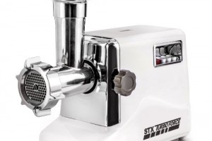 STX-INTERNATIONAL-STX-3000-TF-Turboforce-3-Speed-Electric-Meat-Grinder-with-3-Cutting-Blades-3-Grinding-Plates-Kubbe-Attachment-and-Sausage-Stuffing-Tubes-0