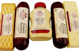 Hickory-Farms-Smoked-Sausage-and-Cheese-Bundle-of-5-Items-Summer-Sausage-Salami-Smoked-Cheddar-Jalapeno-Cheese-Sweet-Hot-Mustard-Over-3-Pounds-of-Snacking-0