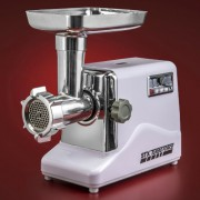STX-INTERNATIONAL-STX-3000-TF-Turboforce-3-Speed-Electric-Meat-Grinder-with-3-Cutting-Blades-3-Grinding-Plates-Kubbe-Attachment-and-Sausage-Stuffing-Tubes-0-0