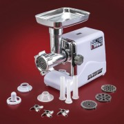 STX-INTERNATIONAL-STX-3000-TF-Turboforce-3-Speed-Electric-Meat-Grinder-with-3-Cutting-Blades-3-Grinding-Plates-Kubbe-Attachment-and-Sausage-Stuffing-Tubes-0-1